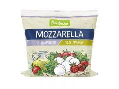 """Сыр """"Моцарелла""""  в рассоле 45%  - 0,125"""