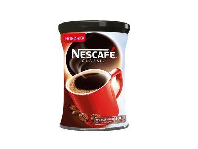 """Кофе """"Нескафе"""" классик 100гр."""