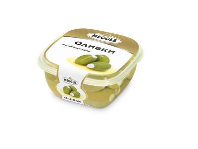 """Оливки со сливочным сыром 0,23  ТМ """"Мегле"""""""