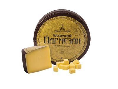 """Сыр """"Костромской Пармезан""""  6 мес выдержки 40%"""