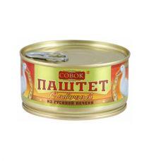 """Паштет из гусиной печени """"Совок"""" 0,13"""
