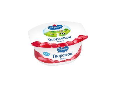 """Паста творожная """"Савушкин""""  3,5%  0,12"""