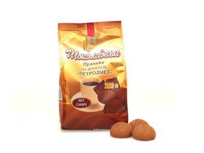 Пряники шоколадные на фруктозе 350 гр