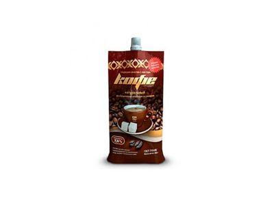 Молоко сгущенное с сахаром и кофе 7,5%  270 гр /СаранскийКЗ/