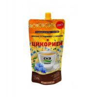 Молоко сгущенное с сахаром и цикорием 270 гр /Саранский КЗ/