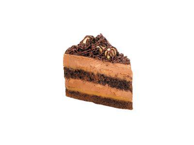 """Пирожное """"Шоколадно-карамельное с фундуком"""" 0,12"""