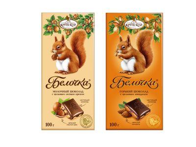 "Шоколад ""Белочка"" 100 гр"