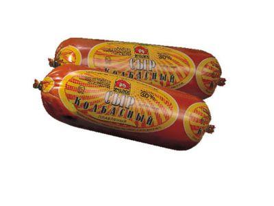 Сыр колбасный копченый 30% - 0,4