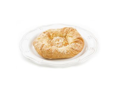 Десерт слоеный (абрикос, яблоко)