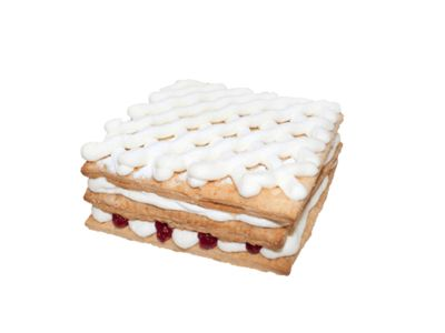 """Торт """"Сливки с малиной"""" 0,4"""