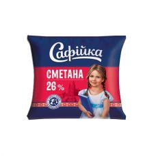 Сметана 26%  400 гр  ТМ Софийка