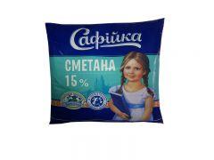 Сметана 15%  400 гр  ТМ Софийка