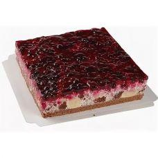 """Торт """"Сметанник"""" ванильный с лесными ягодами"""