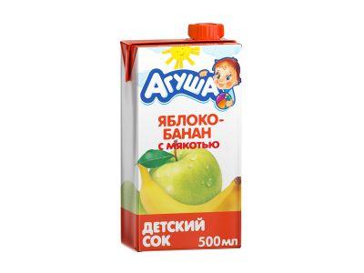 """Сок """"Агуша"""" 0,5"""