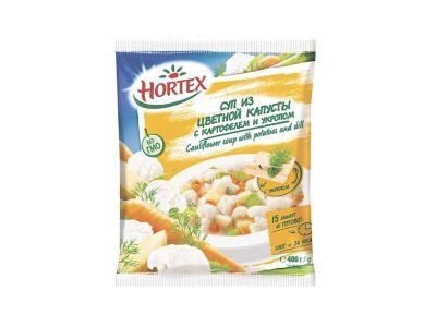 Суп из цветной капусты с картофелем и укропом 400 гр /ТМ Хортекс/