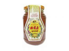 Мед натуральный 0,35 в стекле /ЛПХ Стрелковой А.Ф./