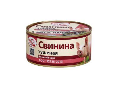 Свинина тушеная ГОСТ 0,325 /Гатчинская МК/