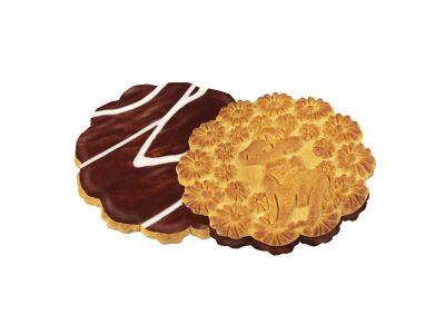"""Печенье """"Телочка в шоколадной глазури"""""""