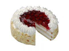 """Торт """"Творожный"""" клубничный 1 кг"""