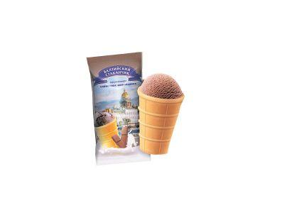 """Мороженое вафельный стаканчик """"Невский"""" шоколадный 70 гр"""