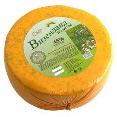 """Сыр """"Визенланд"""" с черемшой 45%"""